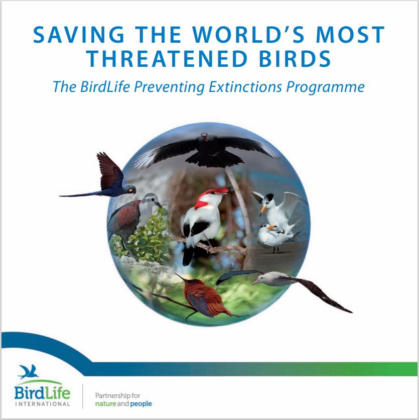 Saving the World's Most Threatened Birds